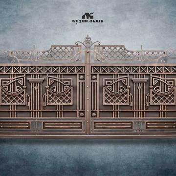 Ковані ворота фото - 10