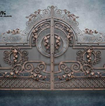 Ковані ворота фото - 13