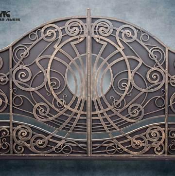 Ковані ворота фото - 4