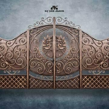 Ковані ворота фото - 5
