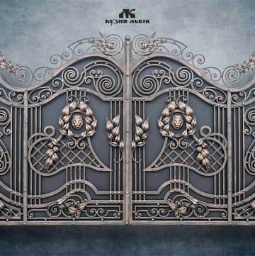 Ковані ворота фото - 6