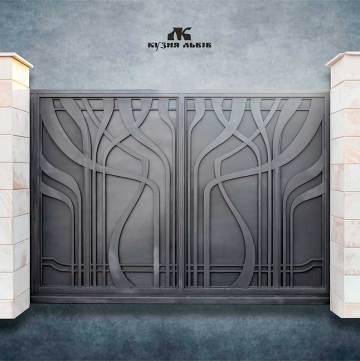 Ковані ворота фото - 7