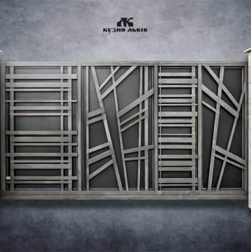 Ковані ворота фото - 8