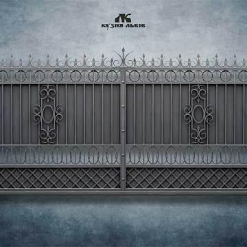 Ковані ворота фото - 9