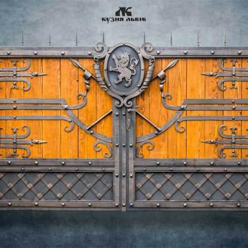 Ковані ворота - код 01
