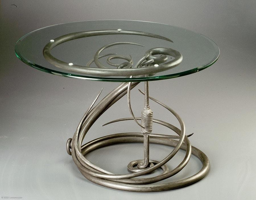 кований стіл фото 7